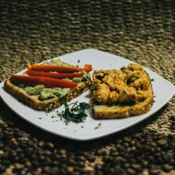 Macadamia Nut Bread with...