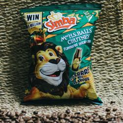 Simba Chips 36g, Mrs. Balls...