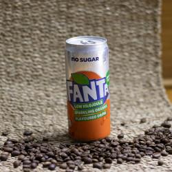 Fanta Zero Orange Can 300ml